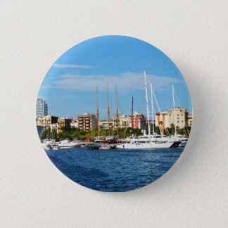 Yachting 2 Inch Round Button