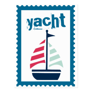 Yachting - Boating Sailing Sail Boat Post Cards