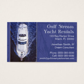 Yachting Business Card