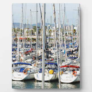 Yachting Plaque
