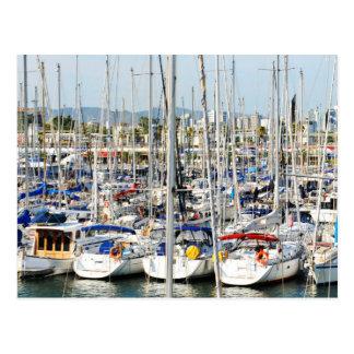 Yachting Postcard