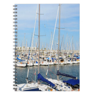 Yachting Spiral Notebook