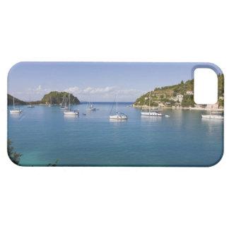 Yachts at anchor, Lakka, Paxos, Greece iPhone 5 Cover
