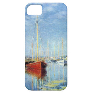 Yachts at Argenteuil by Claude Monet iPhone 5 Covers