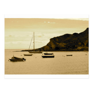 Yachts in a Bay Postcard