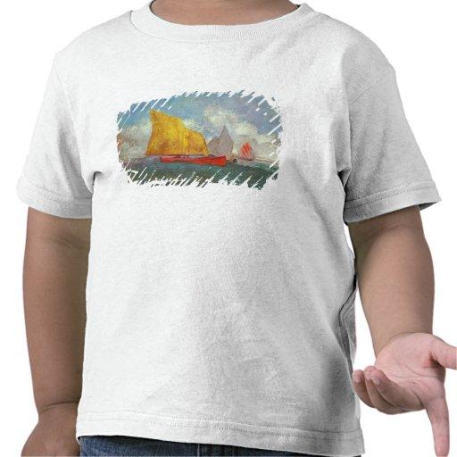 Yachts in a Bay Tshirts