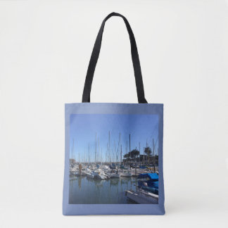 Yacht's in Harbor Tote Bag
