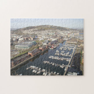 Yachts in Swansea. Jigsaw Puzzle