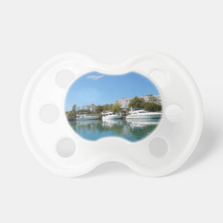 Yachts in Turkey Baby Pacifiers