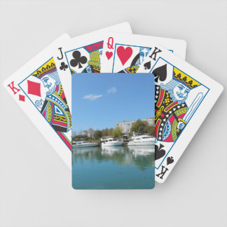 Yachts in Turkey Bicycle Playing Cards