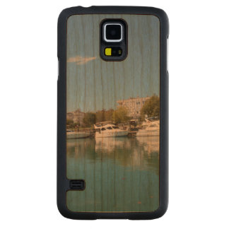 Yachts in Turkey Carved Cherry Galaxy S5 Case