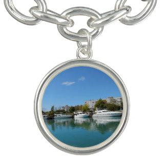 Yachts in Turkey Charm Bracelets