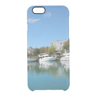 Yachts in Turkey Clear iPhone 6/6S Case