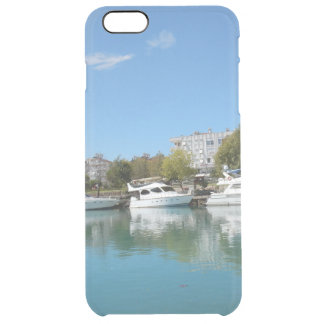 Yachts in Turkey Clear iPhone 6 Plus Case