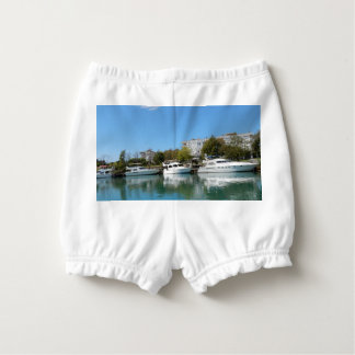 Yachts in Turkey Diaper Cover