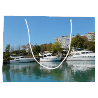 Yachts in Turkey Large Gift Bag
