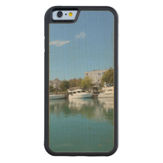 Yachts in Turkey Maple iPhone 6 Bumper Case