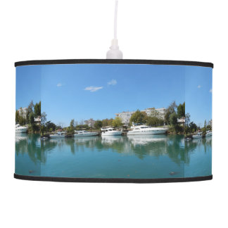 Yachts in Turkey Pendant Lamp