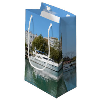 Yachts in Turkey Small Gift Bag