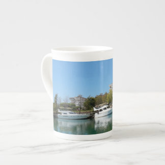 Yachts in Turkey Tea Cup