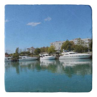 Yachts in Turkey Trivet