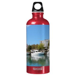 Yachts in Turkey Water Bottle