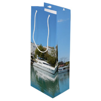 Yachts in Turkey Wine Gift Bag