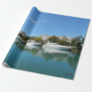 Yachts in Turkey Wrapping Paper