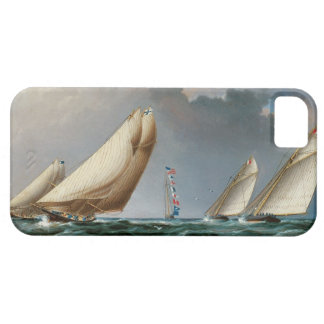 Yachts Rounding the Mark iPhone 5 Cover