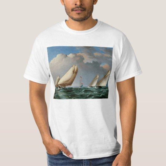 Yachts Rounding the Mark T-Shirt