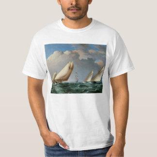 Yachts Rounding the Mark Tee Shirt