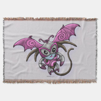 YACON ALIEN MONSTER Throw Blanket