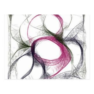 yaei_linkked brain project interconeccted neuron postcard