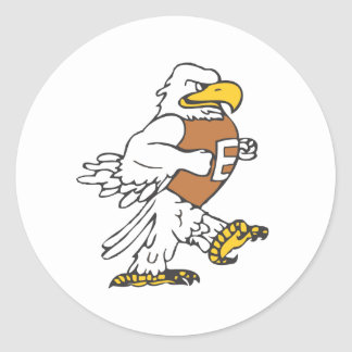 YAFL Eagles Under 8 Classic Round Sticker