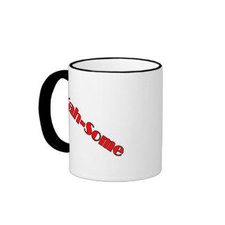 Yah-some (red) coffee mugs