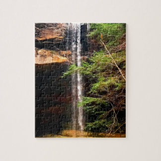 Yahoo Falls, Big South Fork Kentucky Jigsaw Puzzle