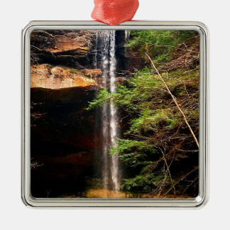 Yahoo Falls, Big South Fork Kentucky Metal Ornament
