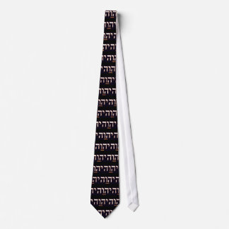 Yahweh (written in Hebrew) Necktie