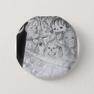 yaie monster manga anime 2 inch round button