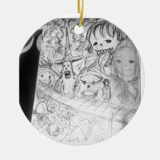 yaie monster manga anime ceramic ornament