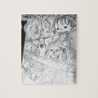 yaie monster manga anime jigsaw puzzle
