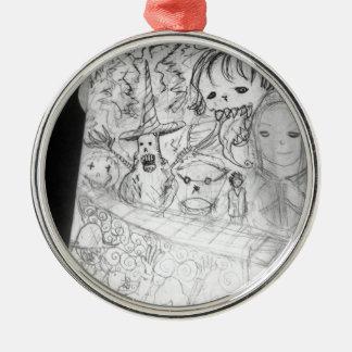 yaie monster manga anime metal ornament