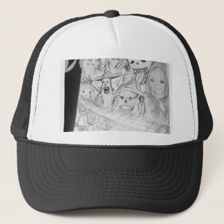 yaie monster manga anime trucker hat