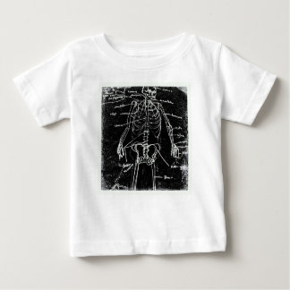 yaie tokyo human skeleton anatomy baby T-Shirt