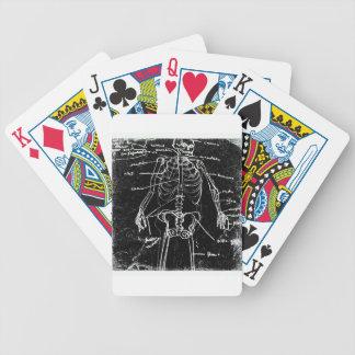 yaie tokyo human skeleton anatomy poker deck