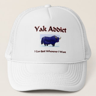Yak Addict Trucker Hat
