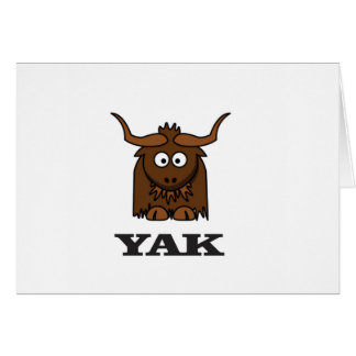 yak attack card