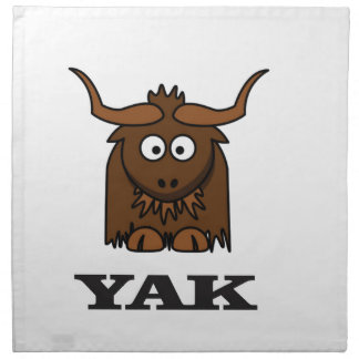yak attack cloth napkins