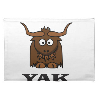 yak attack place mat