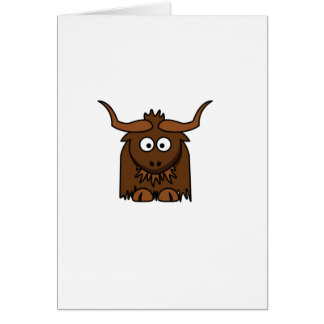 yak baby card